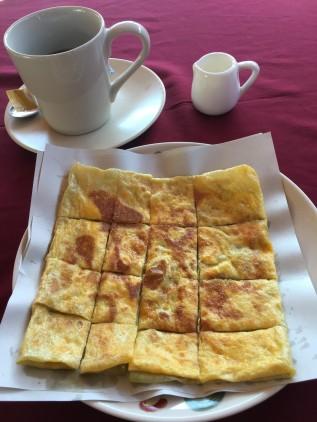 Thaï pancake (avec œuf)