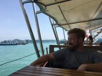 On the catamaran